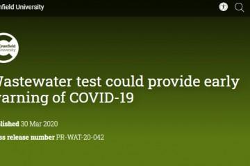国外方案经过污水传感器来追寻新冠疫情的迸发