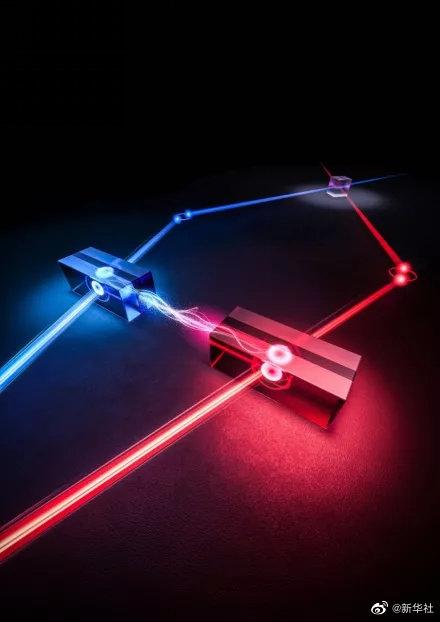 中国量子鹊桥技术可将量子通信速率提升四倍