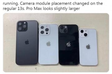 iPhone13模型机曝光外观设计毫无新意